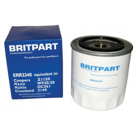 Oil filter land range rover classic 200 tdi