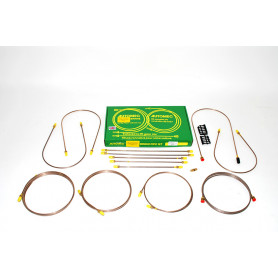 Ready made brake pipe set discovery 1 - 200tdi - rhd