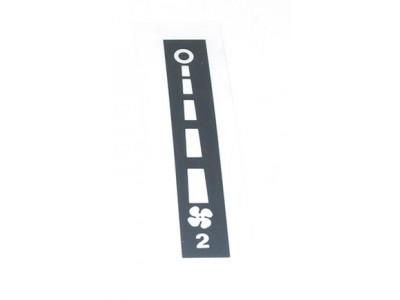 Sticker ventilation