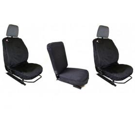 Defender waterproof seat covers to 2007 - black, set of 3.