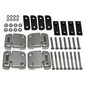 Kit charnieres complet pour portes arrieres station wagon