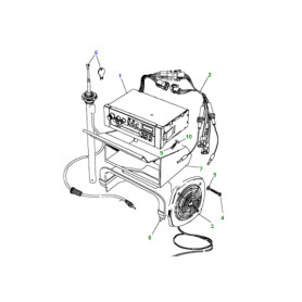 support-cache de recepteur radio