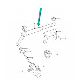 axe de debrayage Range P38