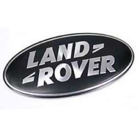 Land rover supercharged grille badge