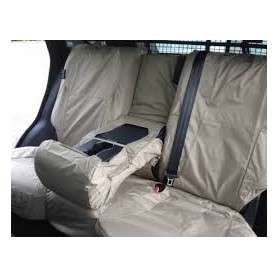 Waterproof seat cover almond land rover