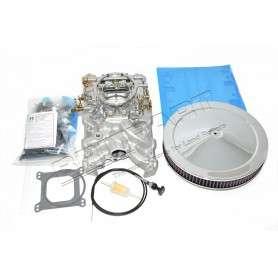 V8 4-barrel conversion kit including manifold