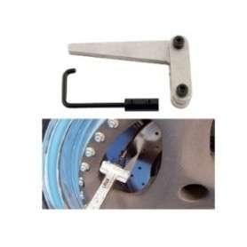 Accessoire mesure epaisseur disque de frein pour pied a coulisse