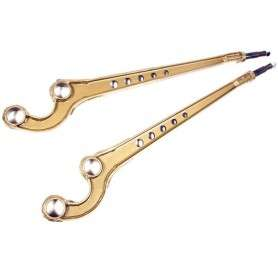 Caster corrected front radius arms pair