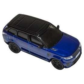 Die-cast 1:76 scale model range rover sport svr estoril blue