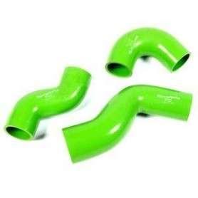 Terrafirma silicone intercooler hose kit green 90/110/130 td5