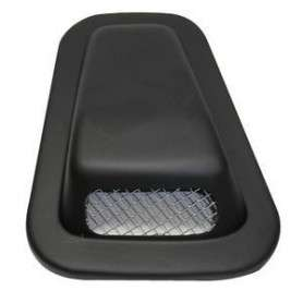 Wing top air scoop with grille - lh