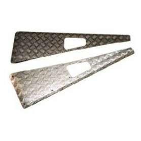 Jeu de protection daile mammouth 3mm aluminium naturel