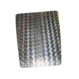 Protection de capot 3mm aluminium naturel