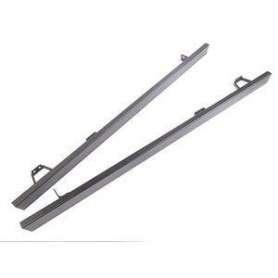 Protections (paire) de bas de caisse sans tube noir