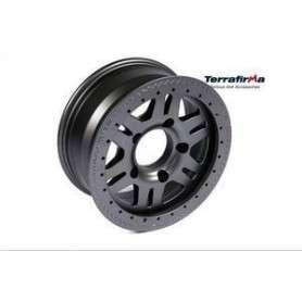 Terrafirma rvs alloy wheel - matt black 90/110/130/d1/rrc