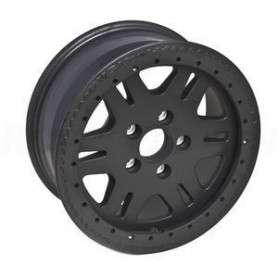 Terrafirma bead lock wheel in matt black for disco 2 & p38