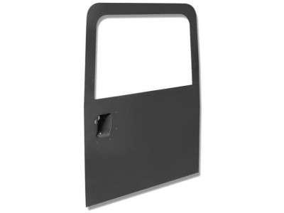 Porte arriere sans vitre sans porte roue