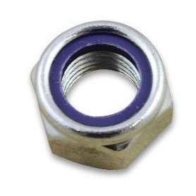 M20 nyloc nuts 985 bzp
