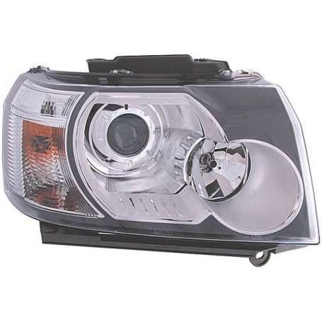 Headlamp assembly right lhd with hid headlamp less adaptive