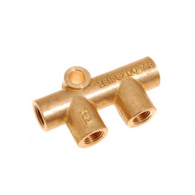 Double eblow connector