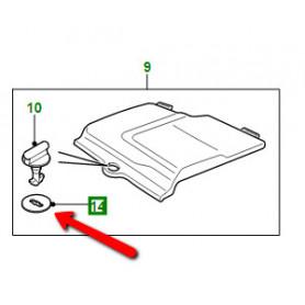Rondelle d'arret couvercle batterie Discovery 2