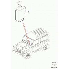 Module Electronique-Feux antibrouillard arrière