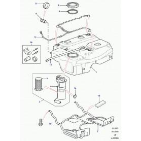 Sensor unit-fuel
