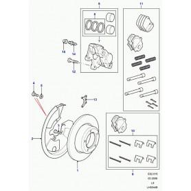 Brake pads genuine land rover
