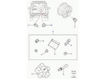 Centre de roue