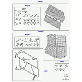 Kit separation de coffre pour chien