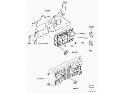 Blade mini fuse 30a