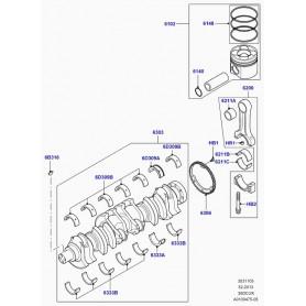 Bearing - connecting rod freelander td4