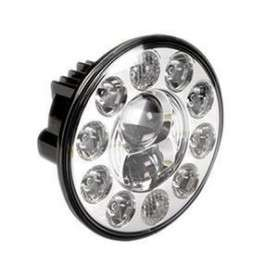 "duo-lux 7"" led headlight (single) lhd"