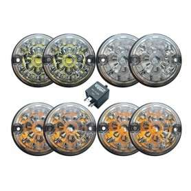 Clear lens led light kit