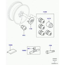 adaptateur cle pour ecrou roue Discovery 3, Range L405, Sport