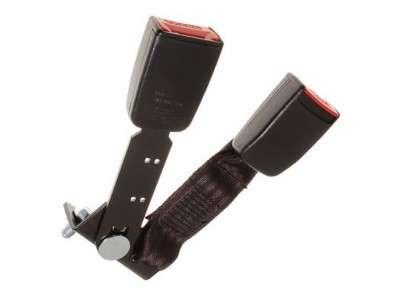 Embout de ceinture de securite avant gauche et centrale pour defender