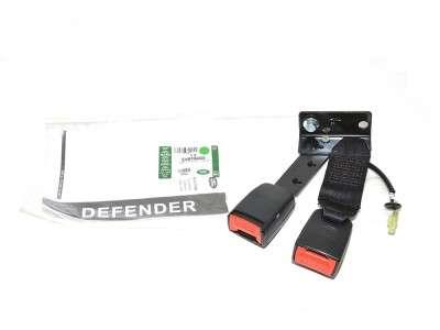 Boucle fermeture - ceinture sécurite gauche double