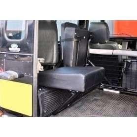 Rear inward facing seat 90 - black