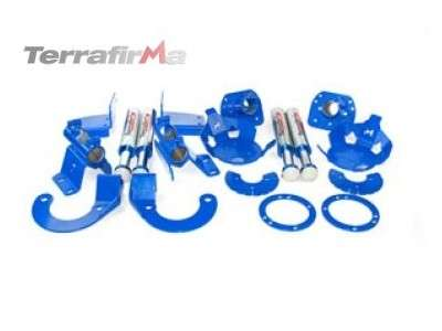 Terrafirma hydraulic bump stop and mounting kit for 110/130