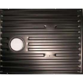 Rear floor panel