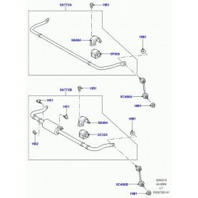 piece de jonction-barre stabilis. Range Sport
