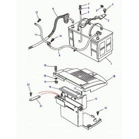 Batterie sèche avec moteurs diesel