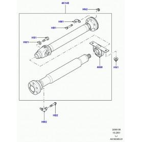 Boulon d arbre de transmission arriere range rover l322