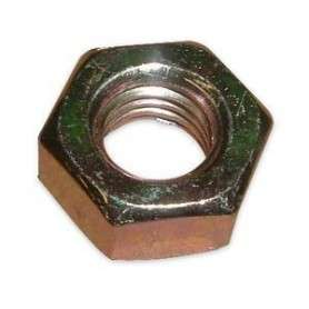 Hex full nut m10