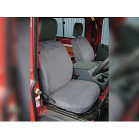 Defender waterproof seat covers to 2007 - grey, set of 3.