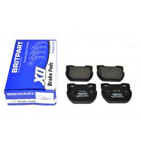 Rear brake pads defender 110 / 130 to 2001