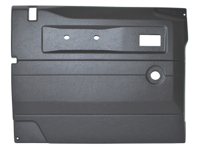 Panneau de porte conducteur gris