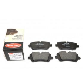 jeu de 4 plaquettes de frein arriere Range L405, Sport