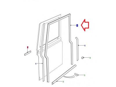 Seal door left