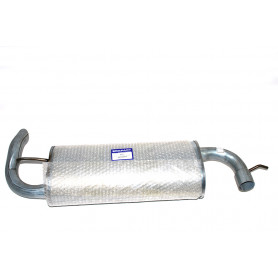Pipe - exhaust - rear